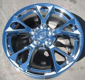 "4 New 18"" Factory Nissan Maxima Chrome Wheels Rims Murano Altima M45 62582"