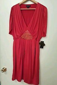 Baby Phat Sexy Red Dress NWT Plus Size Size 1x
