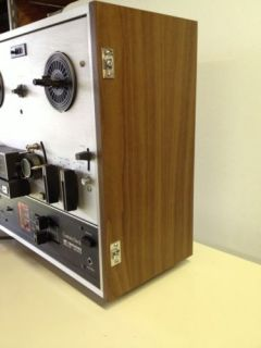 Akai x 200D Auto Reverse 3 Motor 3 Speed Reel to Reel Tape Recorder Player