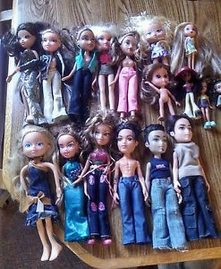 Bratz Lot Dolls Baby Bratz and Mini Bratz Clothes Shoes Accessories Look