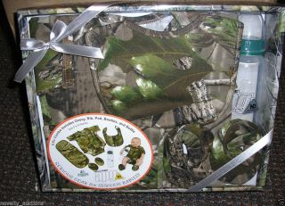 ST32 Rivers Edge Real Tree Camo Camouflage 5 Piece Baby Combo Set