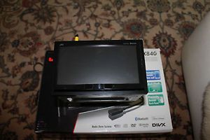 """JVC KW AVX840 7"""" Double DIN Car DVD Player Bluetooth iPod iPhone Compatible"""