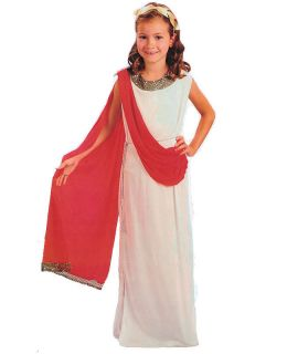 Child Girls Roman Toga Greek Goddess Fancy Dress Costume Headpiece 3 Sizes