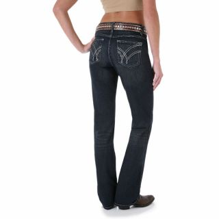 Wrangler Womens Ultimate Riding Jeans Q Baby Absolute Star 7 x 38