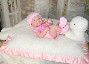 La Newborn Life Like Berenguer Newborn Baby Doll New 4 Reborn or Play Clothes