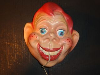 1950 Vintage Hard to Find Howdy Doody Chalkware String Holder Excellent Look