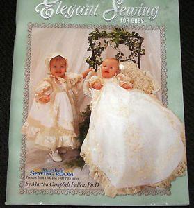 Elegant Sewing Baby Dolls Petticoat Bonnet Dress Day Christening Gowns