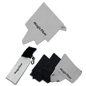 5 Pcs Magicfiber Large Small Keychain Microfiber Cleaning Cloth for Camera Lens