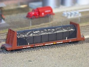 """O"" Scale 60' Bulkhead Flat Car Kits"