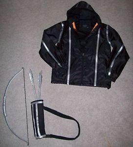 Hunger Games Katniss Everdeen Homemade Costume Jacket Bow Arrows Quiver