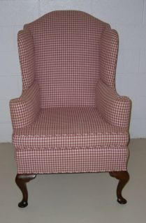 Biggs Antique Furniture Company Queen Anne Wing Chair