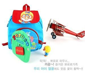 Pororo House Backpack Bag for Kids Tolddler Baby PR082