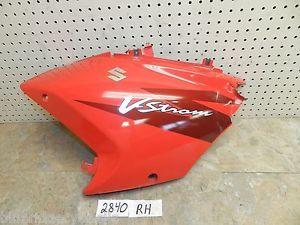 2006 Suzuki V Strom DL 650 Right Hand Upper Cowl Fairing Panel Trim Body Oem