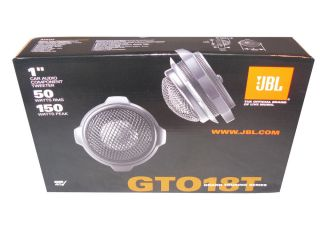 "JBL GTO18T 1"" Component Car Tweeters with Crossover New with Warranty"