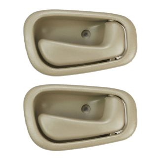 98 99 00 01 02 Toyota Corolla Inside Interior Door Handle Tan Beige Right 2pcs