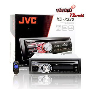 JVC KD R330 in Dash CD  WMA Car Stereo Receiver w Dual Aux 3 Band Equalizer 046838047831