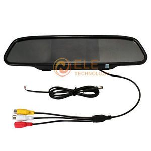 New 4 3 inch TFT Color LCD Car Mirror Rearview Rear View Mirror Car Monitor