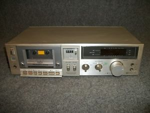 Technics Model RS M240X Home Audio Auto Stop Stereo Cassette Deck Tape Player