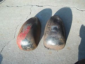Vintage Motorcycle Rat Hot Rod Parts Scooter Whizzer Gas Tank Half Bicycle Parts