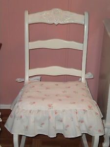 Merveilleux Shabby Chic Pink French Provincial Style Wingback Parlor Chair