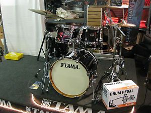 Tama Silverstar Custom Birch 5pc Drum Set w Zildjian Cymbals HDW $1099 95