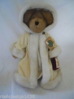 "Retired 16"" Boyd's Bear Anya FROSTFIRE w Fur Cloak Tags 1364 Archive Collect"