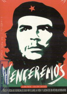 3 DVD Set Venceremos Movies Argentina Ernesto Che Guevara New Documentary