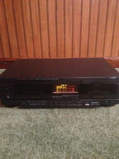 Fisher Studio Standard Double Reverse Stereo Cassette Dual Tape Deck CR W905
