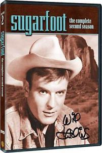 1950's Western Drama TV Series DVD Sugarfoot Season Two Autographed Box 58 59