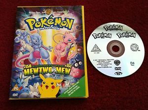 Pokemon The First Movie Dvd Cardboard Case Edition