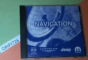 2013 Chrysler Dodge Jeep Navigation Disc 05064033AL 033AL DVD RAM 300C Cherokee