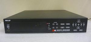 Pelco DX 4000 Series Digital Video Recorder 4 Channel DVR DX4004 160