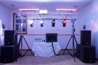 Complete Professional DJ Equipment Package Speakers Lights Truss Etc