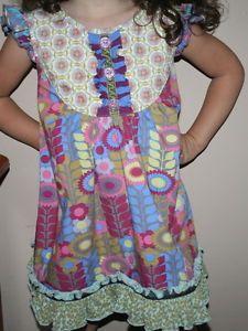 Matilda Jane Heart Soul Pride Chaising Daisy Flutter Dress Size 4