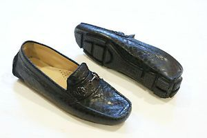 Cole Haan Trillby Bit Sneak Embossed Loafers Driving Shoes Womens 5 New