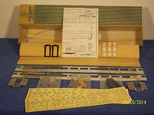 Lot of 3 O Scale Passenger Car Kits Coach Chair Pullman