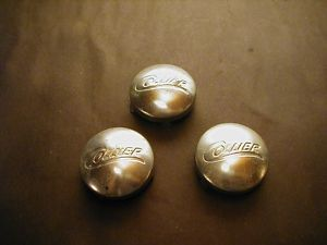 3 Hub Caps for Collier Baby Carriage Buggy or Stroller Dust Covers