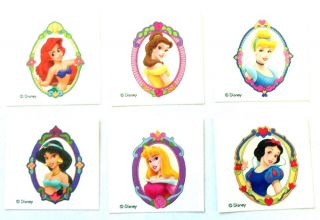 12 Disney Princess Tattoos Teacher Supply Party Favors Belle Ariel Cinderella