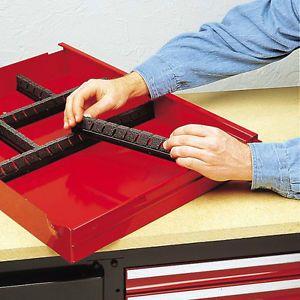 New Craftsman Tool Box Chest Drawer Organizer Storage Divider Sliding Wrenches