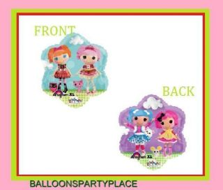 """Lalaloopsy 18"""" Mylar Sew Rag Dolls Party Supplies Decorations Balloons Foil"""