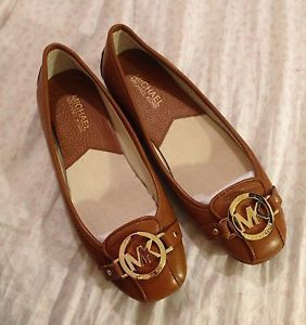 Michael Kors Size9 Fulton Brown Moccasin Flat Driving Shoe