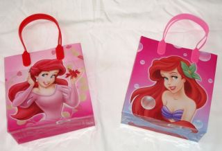 12 Pcs Disney Little Mermaid Princess Goody Gift Bag Girls Birthday Party Supply