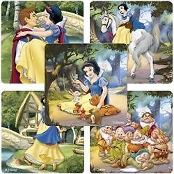 15 Disney Snow White Stickers Girls Party Treat Loot Bags Favors Supply Princess