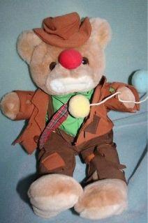 "Emmett Kelly Jr 18"" Clown Teddy Bear Luigi Amani"