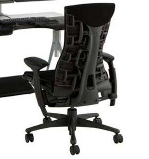 ... New Herman Miller Embody Office Desk Chair Black Rhythm ...
