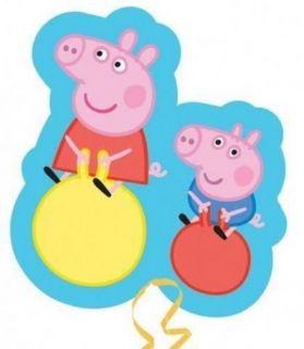"Peppa Pig George Supershape Balloon 21 x 19"""