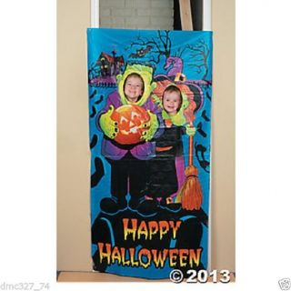 Halloween Party Prop Little Monster Kids Party Photo Photograph Door Banner