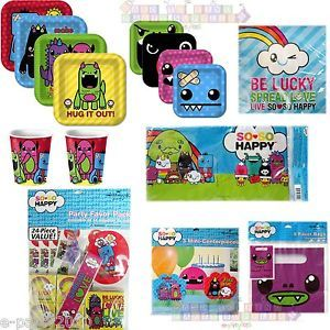 So So Happy Monsters Birthday Party Supplies Pick 1 or Create Set Luckees