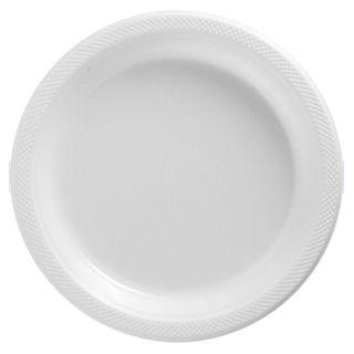 ... 20 White 10 25in Wedding Birthday Party Tableware Plastic Dinner Plates ...  sc 1 st  PopScreen & Classic Red Plastic Dinner Plates Big Value Packs