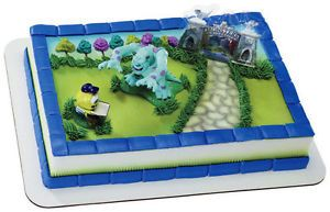 Monsters University Cake Decorating Kit Inc Cake Topper Party Supplies Bakery